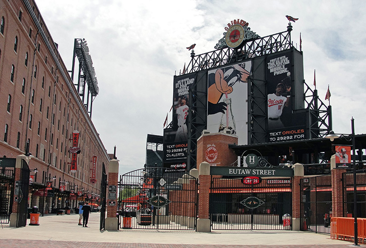 Image result for eutaw street camden yards