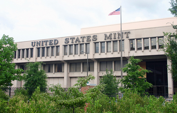 US Mint at 151 North Independence Mall East