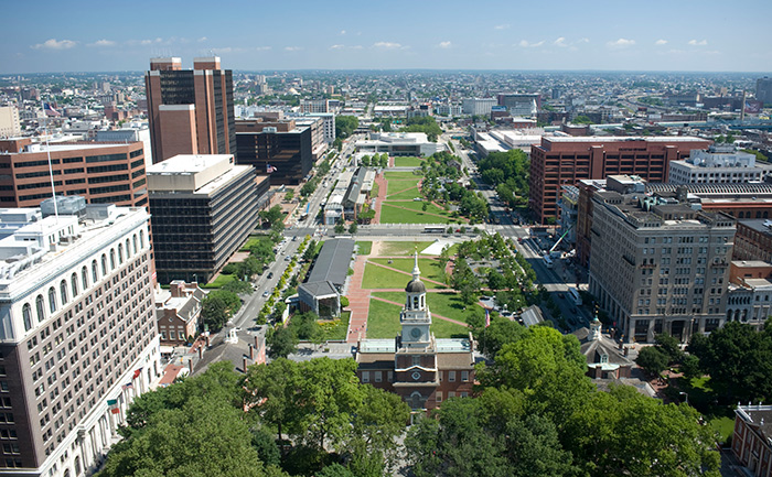 Since 2001, Independence Mall has received $300 million to develop Independence Visitor Center, Liberty Bell Center, National Constitution Center, and the First Presidents House