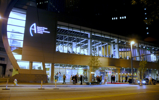 August Wilson Center for African American Culture, Pittsburgh