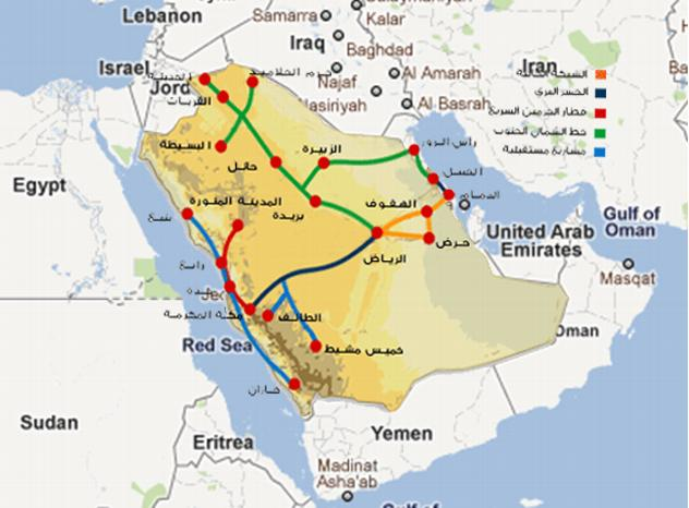 Saudi Arabia High Speed Rail network under construction, Interstate High Speed Rail Competitors