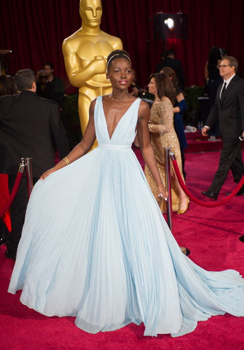 Lupita Nyong'o, won Best Supporting Actress for 12 Years A Slave, Black Oscar Winners & Nominees