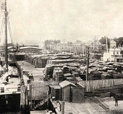 India Wharf Slave Yard in Norfolk