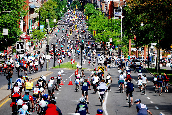 Montreal Bike Festival, Montreal Events