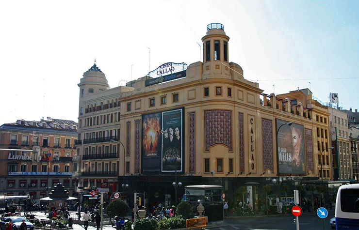 Cines Callao, Madrid