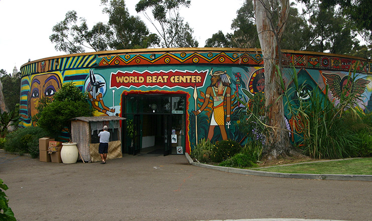 World Beat Center, San Diego cultural sites
