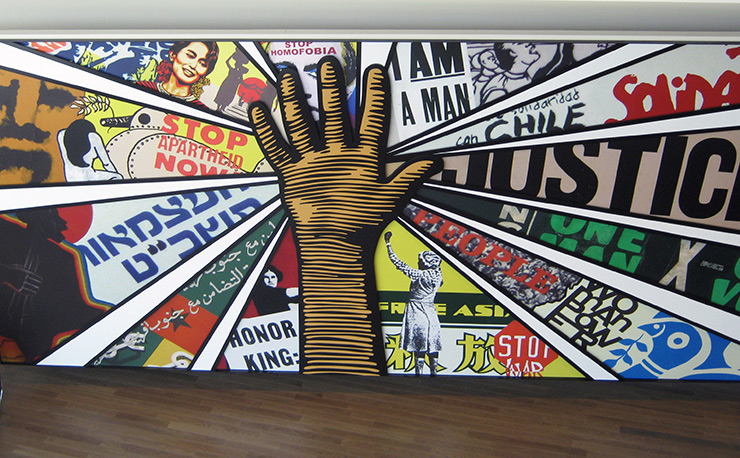 National Center for Civil and Human Rights mural, Atlanta Cultural Sites