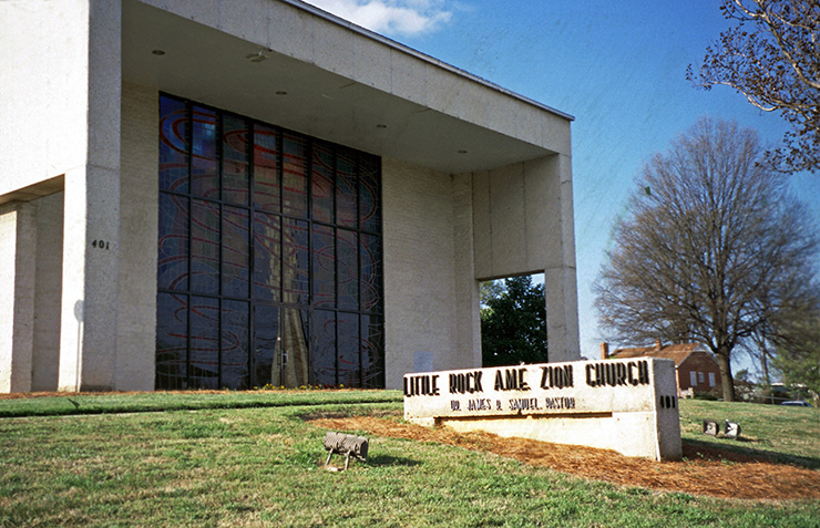 Little Rock AME Zion Church, Charlotte Heritage Sites