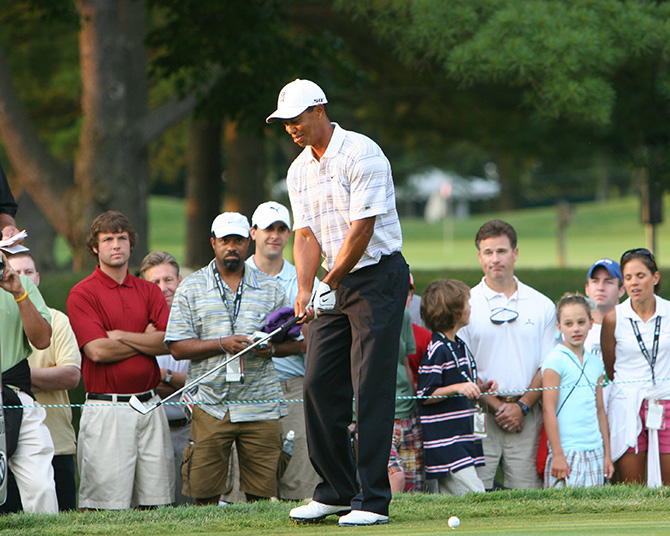 Tiger Woods AT&T Tournament