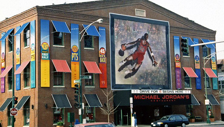 Michael Jordan, Chicago Historic Sites