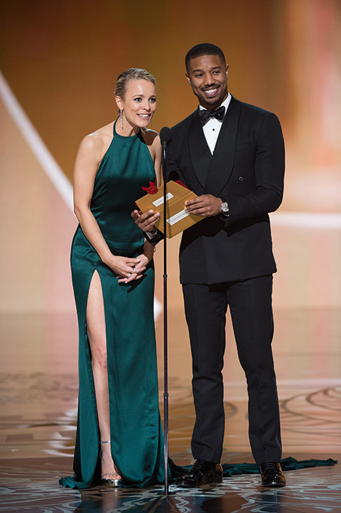 Rachael McAdams & Michael B. Jordan at 88th Academy Awards