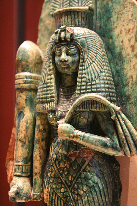 Queen Tiye at The Louvre