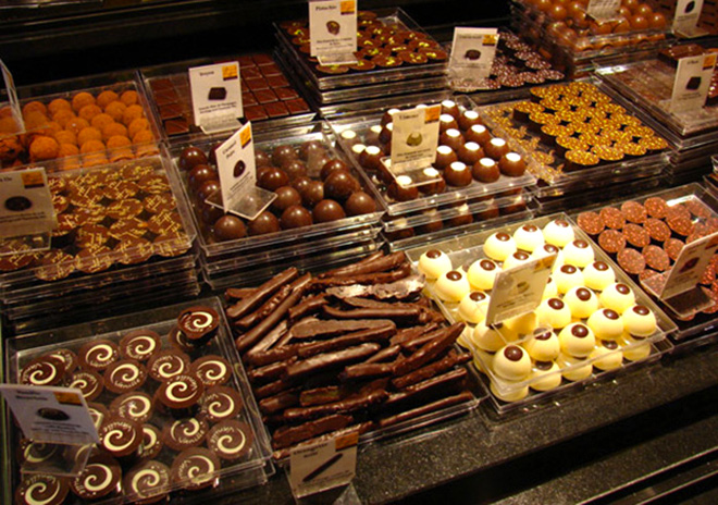 Pascal Caffet chocolates