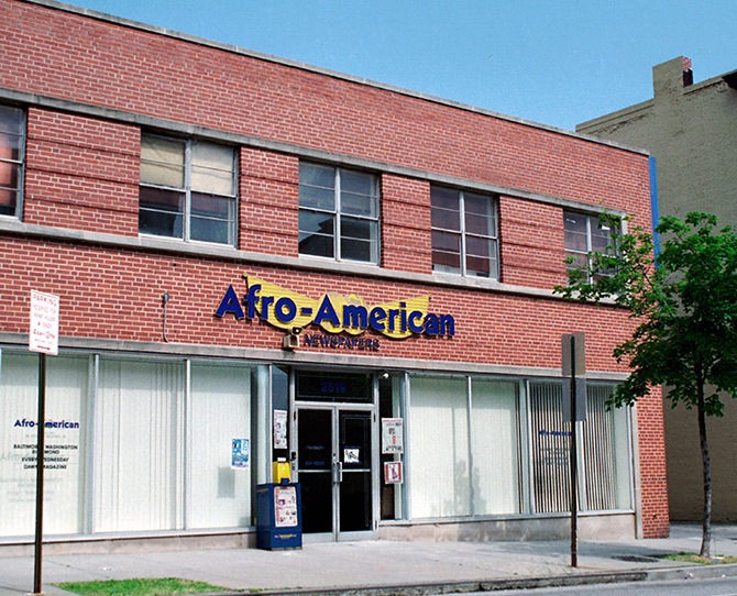 Afro-American Newspaper Headquarters, Civil Rights Hoax Gone Good