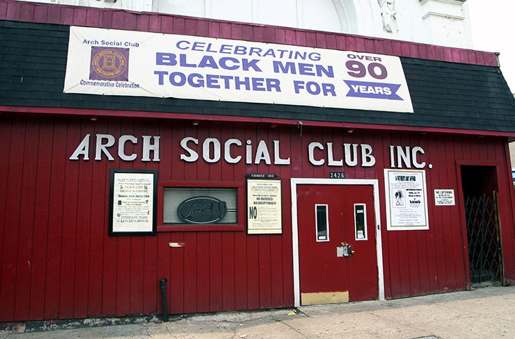 Arch Social Club in Baltimore