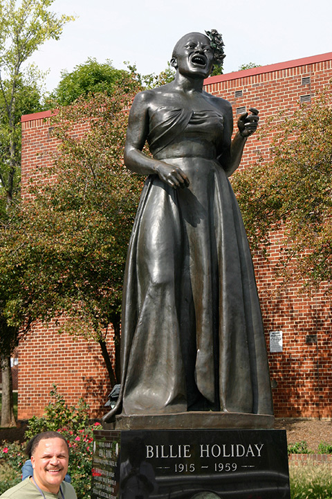 Billie Holiday Monument, Baltimore Jazz