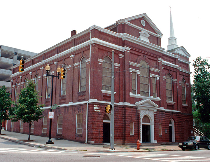 First Baptist Church, Baltimore Places of Worship