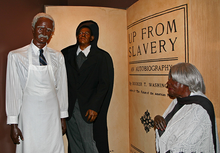 Carver, Washington & Bethune at Great Blacks In Wax Museum