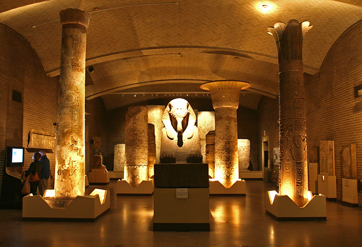 Amarna Egyptian exhibit at the Penn Museum