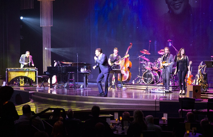 Clint Holmes at Palazzo Theater, Las Vegas Shows