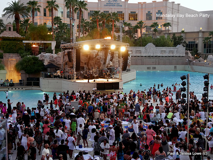 Hoodies Beach Party at Mandalay Bay