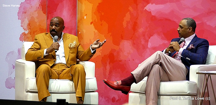 Steve Harvey interviewed by Ed Gordon, Neighborhood Awards