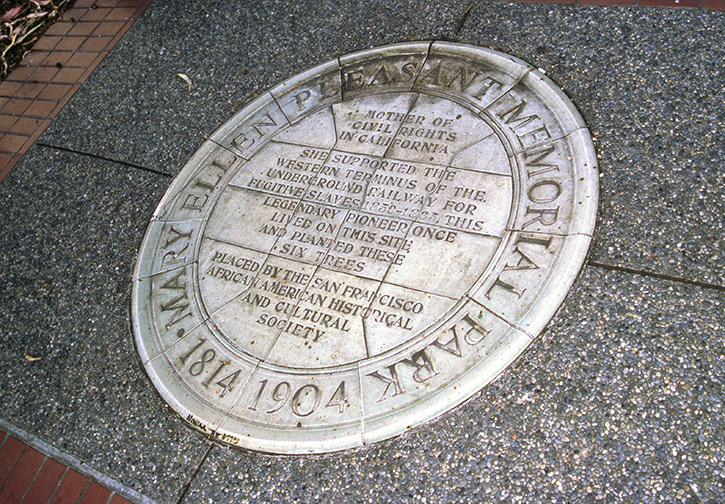 Mary Pleasant Memorial, San Francisco Heritage Sites
