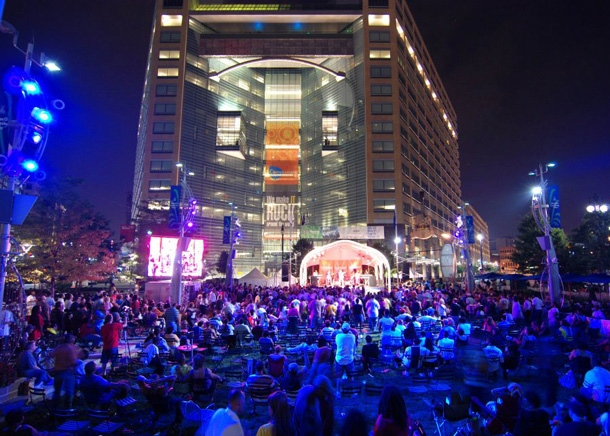 Campus Martius event, Detroit Events