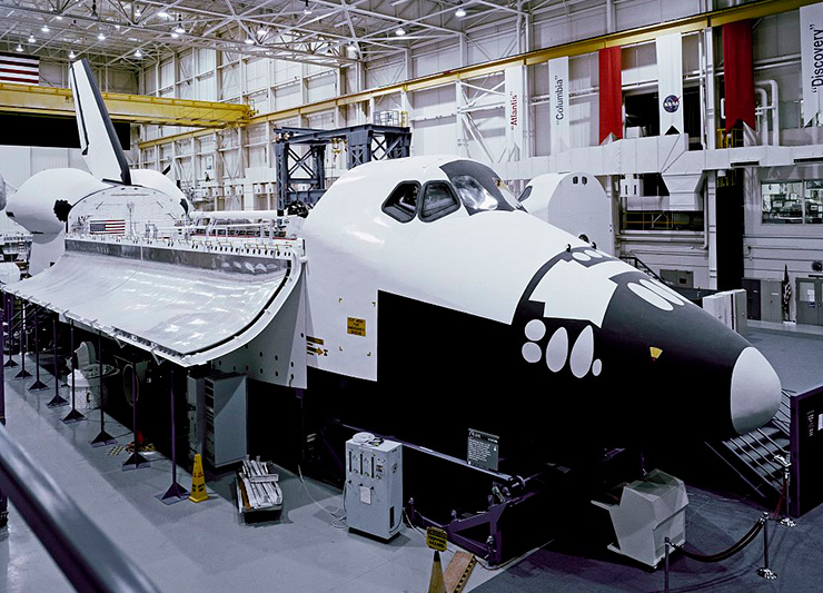Space Shuttle at NASA Johnson Space Center, Houston Family Attractions