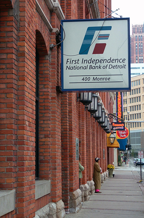 First Independence National Bank of Detroit