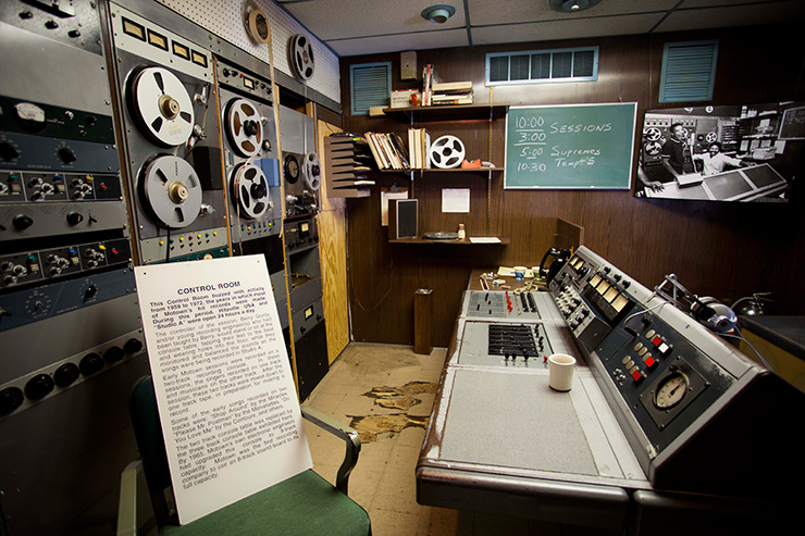Motown Control Room