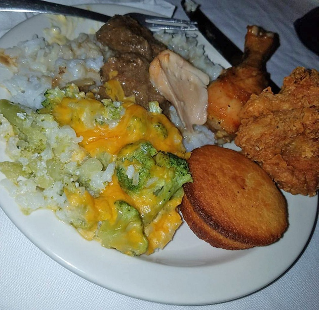 Gay Hawk Soul Food plate, Memphis Restaurants