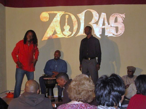 Zoras Lounge, Memphis Restaurants