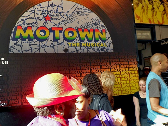 Motown The Musical sign
