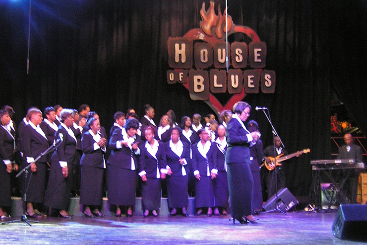 House Of Blues Gospel choir