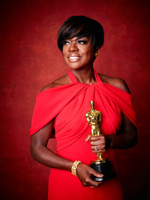 89th Oscars Best Supporting Actress Viola Davis