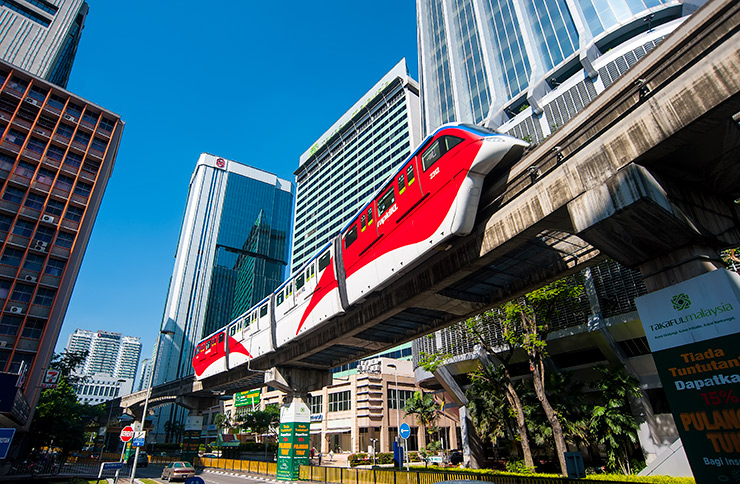 KL Monorail delivers spectacular views of the city