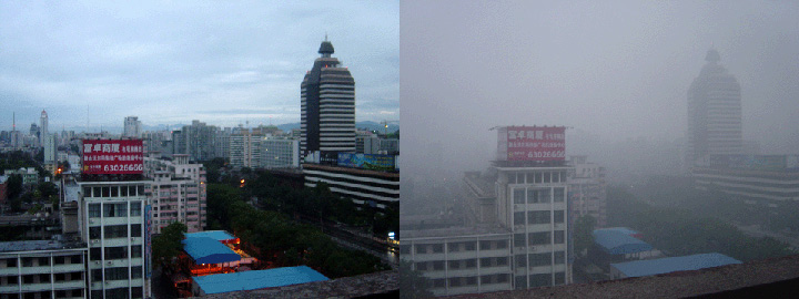 Airpocalypse over Beijing was worse in 2014 than this 2005 image