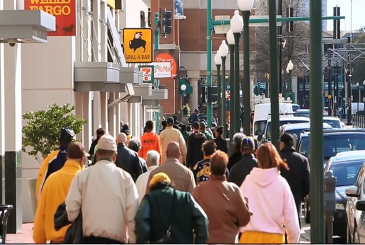 Monticello Avenue in downtown Norfolk