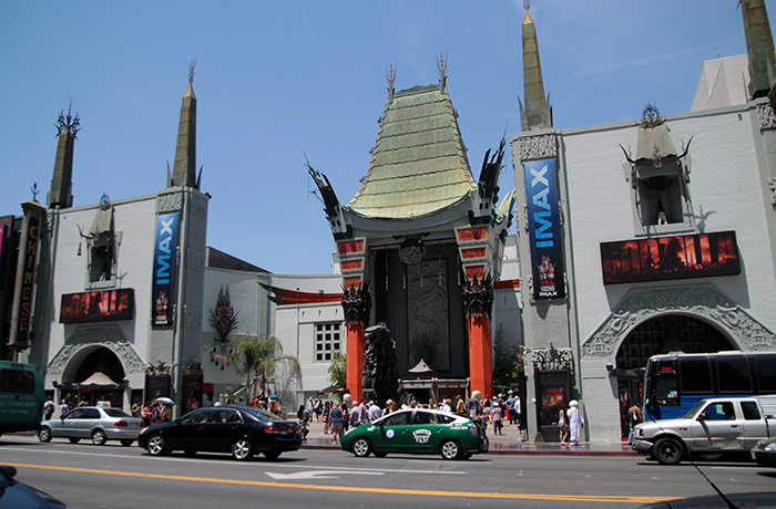 Chinese Theater, Hollywood, Touring LA