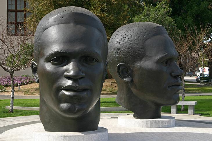 Jackie & Mack Robinson Monument, Pasadena