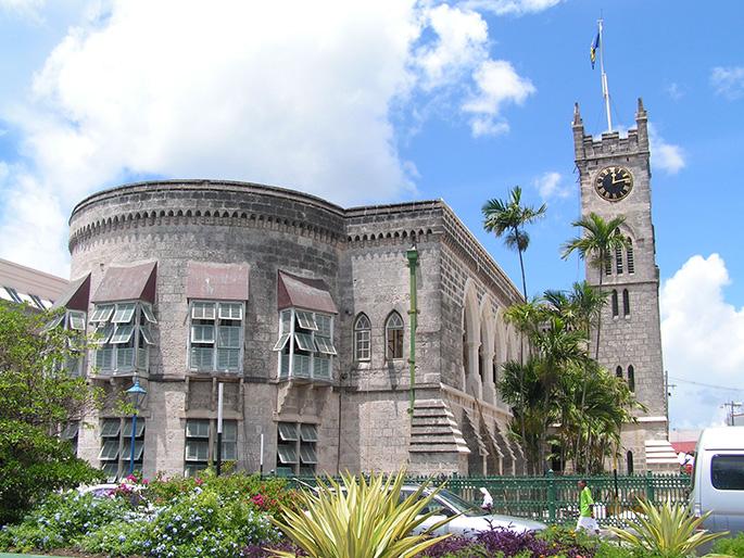 Barbados Parliament Building, Barbados History