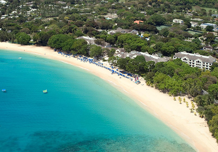 Hotel on Sandy Lane Beach, Barbados Hotels
