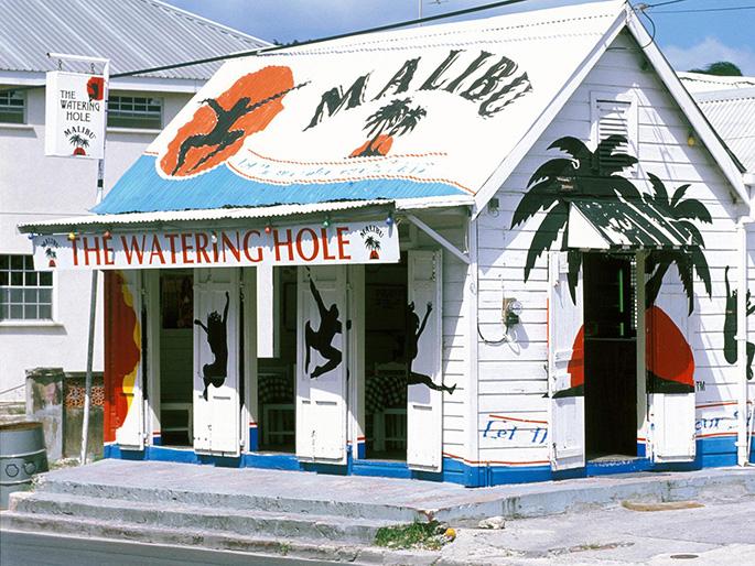 The Watering Hole rum shop, Barbados Attractions