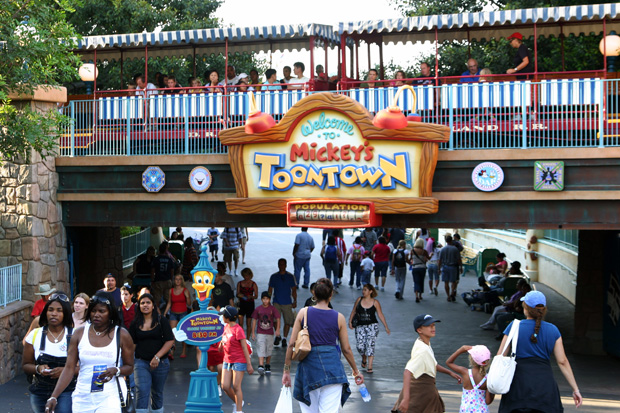 Family Attractions Disneyland