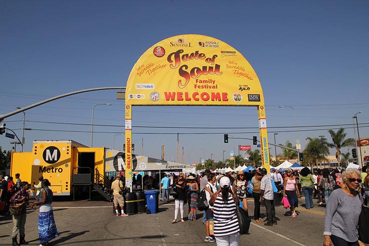 Los Angeles Events, Taste of Soul