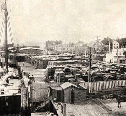 India Wharf Slave Yard in Norfolk