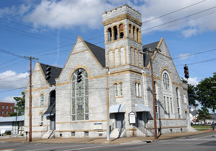 New St. Mark COGIC in Portsmouth