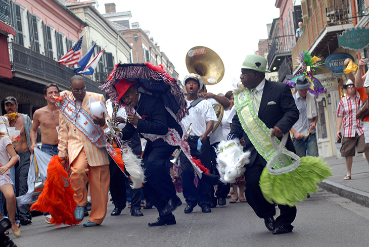 Second Line & Jazz Funeral, New Orleans