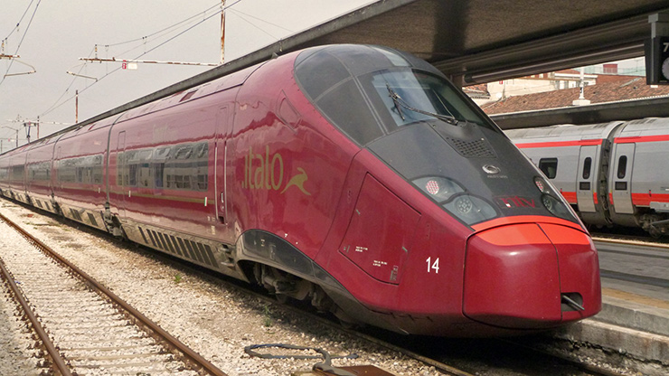 French-built AGV, the most advanced VHST running in Italy, Interstate High Speed Rail